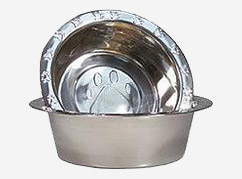 extra stainless steel pet bowls