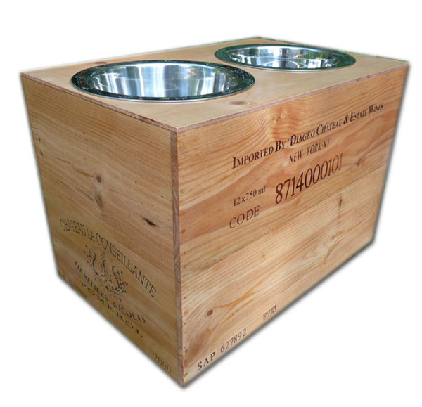 extra large raised dog feeders